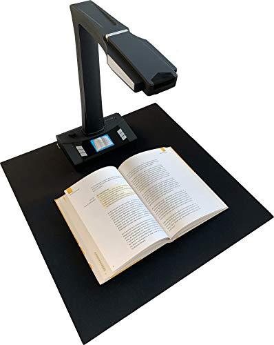 JOURIST BS16 Professioneller A3 Buchscanner. Dokumentscanner und Visualizer für Standalone- und PC-Betrieb. LCD-Display, Fernbedienung, Pedal- und Handauslöser, HDMI-, VGA-, USB- und Mausanschluss
