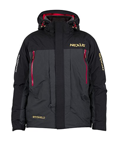 Shimano NEXUS DS Cold Weather Jacket Winter Jacke L Black