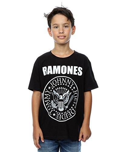 Ramones Niños Presidential Seal Camiseta 7-8 Years Negro