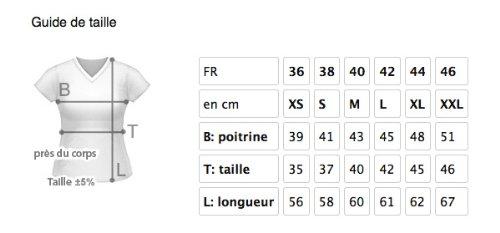 style3 WM 2014 Deutschland Brasilien Fußball T-Shirt für Damen in verschiedenen Farben S-3XL Schwarz