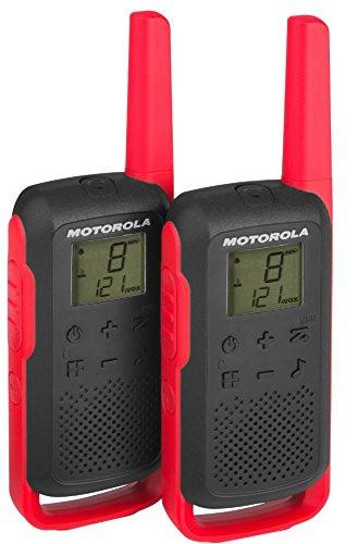 motorola Talk About T6-APPARECCHIO Radio Ricetrasmittente PMR (PMR446, 16canali e 121Codici, Raggio d' Azione Fino a 8km)