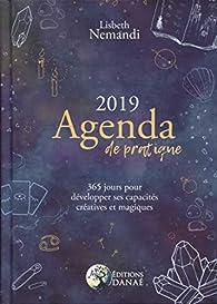Agenda de pratique 2019 par Lisbeth Nemandi