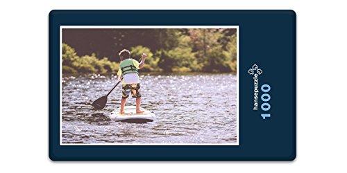 Preisvergleich Produktbild hansepuzzle 21083 Sport - Stand-Up Paddel, 1000 Teile in hochwertiger Kartonbox, Puzzle-Teile in wiederverschliessbarem Beutel