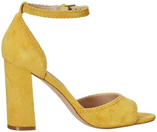 608f37b7d Aldo Women's Elvyne Ankle Strap Sandals, Yellow (Mustard), 7 UK 40 ...