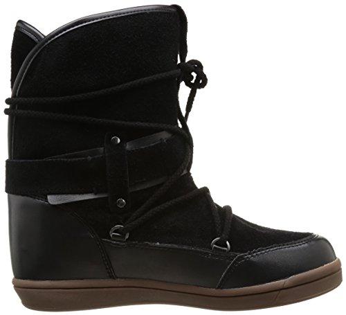 Buffalo 3001 170, Bottes de neige femme Noir (Black 01)