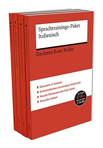 Sprachtrainings-Paket Italienisch (Reclams Universal-Bibliothek)