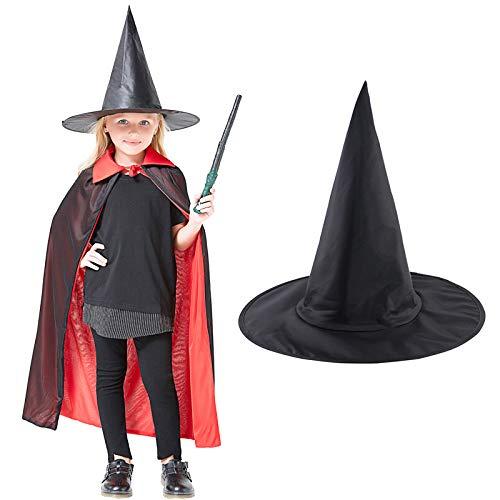 Sombrero de la Bruja de Halloween Partido de Accesorios Spire Sombrero  Cosplay Atrezzo Magic Hat Mujeres c13a9f0b5de