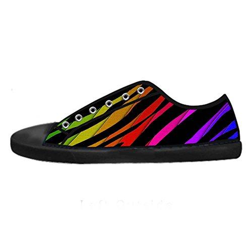 Dalliy zebra stripe Men's Canvas shoes Schuhe Footwear Sneakers shoes Schuhe D