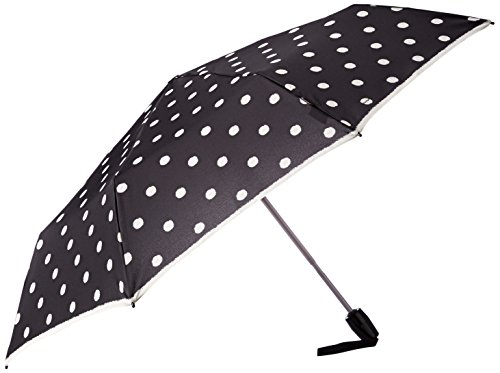 knirps-flat-duomatic-dot-art-black
