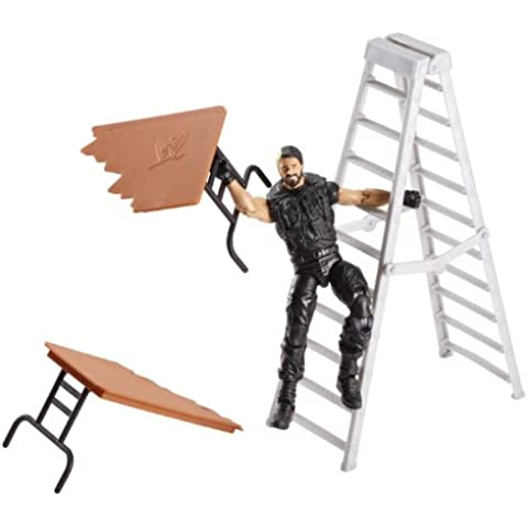 Seth Rollins - The Shield WWE Elite 25 Action Figure (Includes Table and Ladder)