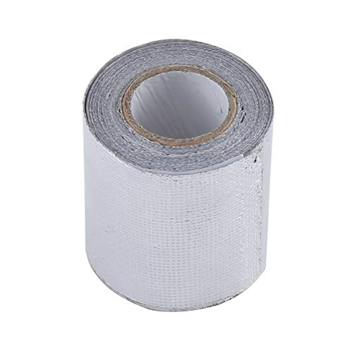 Qhtongliuhewu - Rollo Papel Aluminio Adhesivo automóviles