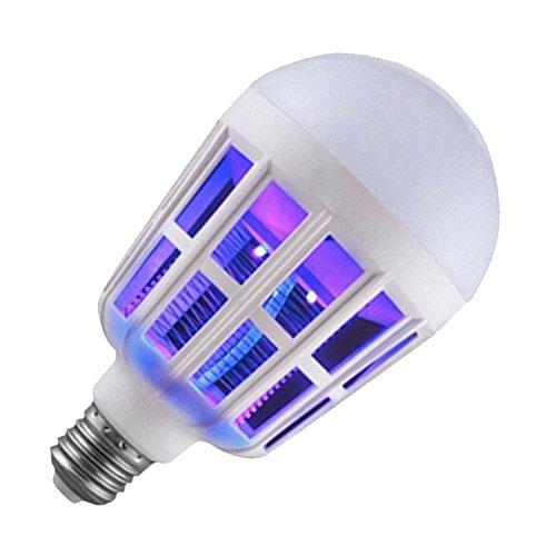2-in-1 Dual Verwenden Elektrische LED Nacht Licht Bug Zapper Licht Glühbirne Mosquito Wasserabweisend Killer Licht 360 Grad Glühen E27 Schraube Lamm Base für EU Spannung 220V