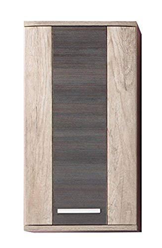 Trendteam 140850158 mobili derivato del legno 40 x 75 x 22 cm quercia decorativa/sospensione touchwood marrone scuro