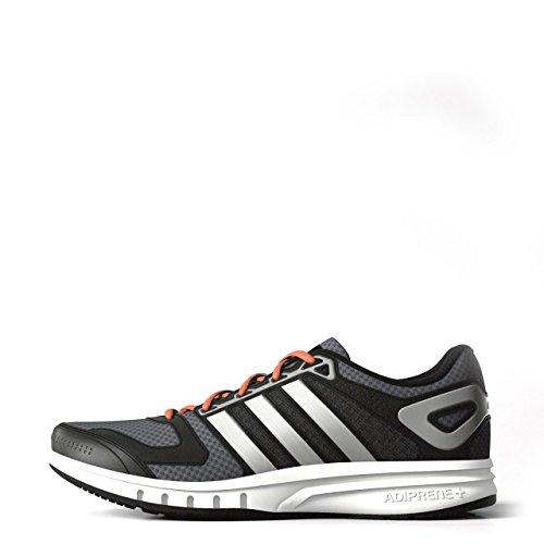 adidas Galaxy M, Chaussures de running homme Gris:argent:noir