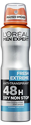 L'Oréal Men Expert Deodorant Fresh Extreme - Deospray Männer, 6er Pack (6 x 150 ml)