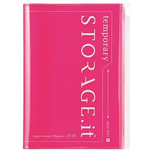 MARK'S 2019 Taschenkalender B6 vertikal, Storage.it Neon Pink.