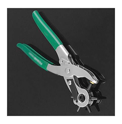 Y.YZUO Belt Puncher - Revolving Leather Punch Eyelet Zangenloch Heavy Duty Belt Plastic Puncher