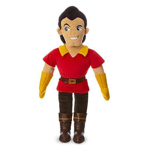 New Disney Store 30cm Beauty & The Beast Gaston Plush Doll Toy 3+ by Disney
