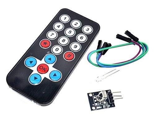 UNIVERSAL-SOLDER SIMPLY  SMARTER  ELECTRONICS  IR Remote Control Sender +  Receiver Kit for Arduino Raspberry Pi STM32 PIC ESP8266