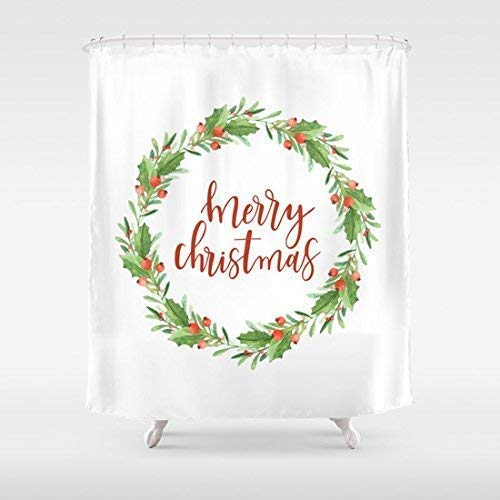 Remmber me Guirnalda Navidad - Cortina Ducha Feliz