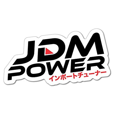 Jdm Power Import Tuner Sticker Decal JDM Car Drift Vinyl Funny Turbo