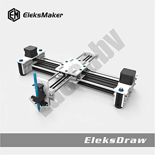 Laecabv 2 Achsen DIY CNC XY Plotter Stift Desktop Zeichnung Robotik Hochpräzise Auto-Malerei Schreibroboter Kit CNC-Fräsmaschine Router