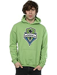 Majestic Homme MLS Seattle Sounders Logo Sweat à capuche