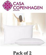 Casa Copenhagen Exotic Premium 2 Pack Pillows Fillers/Inserts 40 cm x 60 cm