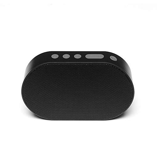 Colonne qiyanBluetooth Haut-Parleur Portable Haut-Parleur Bluetooth Mini WiFi Haut-Parleur sans Fil Soundbar Boîte à Sons Fonctionne avec Amazon Alexa-in AI Haut-parleurs Noir