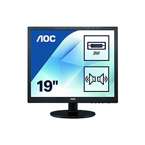 AOC i960Srda 19-Inch Monitor (5:4, 1280 x 1024, VGA ,DID_D)
