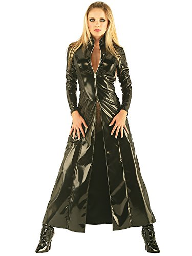 PVC Matrix-Mantel (Matrix Neo Kostüme)