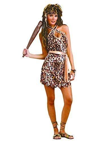 Rubber Johnnies TM Erwachsenen Kostüm Sexy Höhlenmensch Frau Kostüm - Sexy Kostüm Flinstones