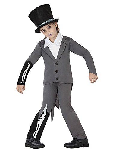 Generique - Halloween-Kinder-Kostüm - Zombie Butler 134/146 (7-9 Jahre)