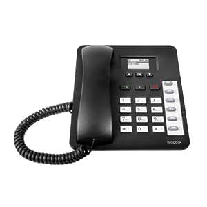 TecMobile - Tecdesk 1000 - Téléphone mobile fixe - GSM UMTS - 3G - noir