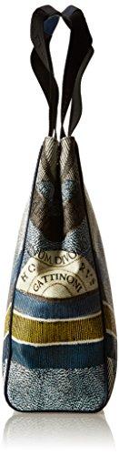H x L x Blu cm Borsa Luna a Spalla Donna W Gattinoni Gacpu0000081 13x35x30 a8zPnq1v