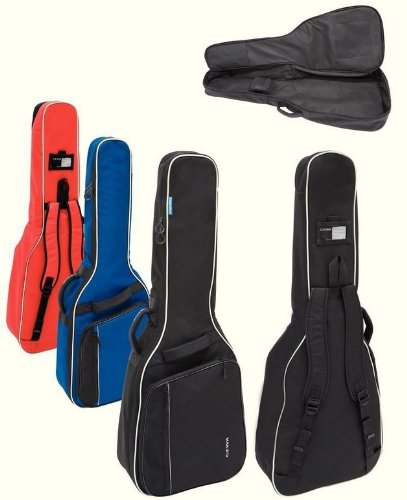Gewa Economy 12 Konzertgitarre 1/2 Gigbag (schwarz) / reißfest und wasserabweisend