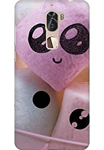 AMEZ designer printed 3d premium high quality back case cover for Coolpad Cool1 (cute candy)