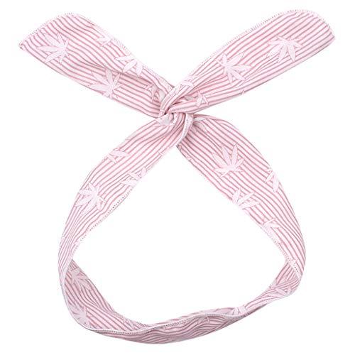 Stirnband Mädchen Süße gedruckte Haarschmuck Cross Wire Haar Bandbreite geraden Streifen
