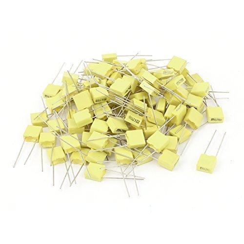 sourcingmap-50x-100v-022uf-220nf-radial-lead-caja-tipo-de-cine-correccion-condensador
