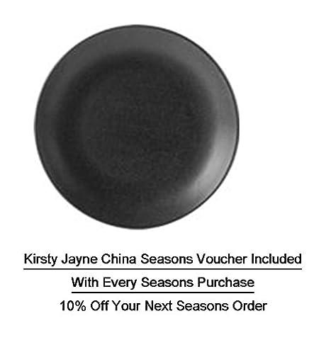 (187618GR) NEW Seasons Range of rustic inspired tableware by Porcelite
