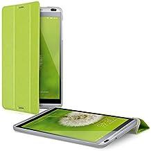 kwmobile Slim Smart Cover Funda Carcasas para Huawei MediaPad M1 8.0 en verde con TPU silicona