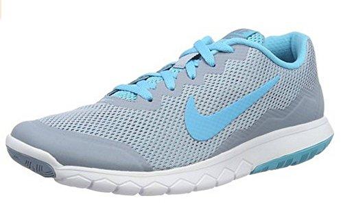 Nike Wmns Flex Experience Rn 4, Chaussures de Running Entrainement Mixte Adulte Azul (Blue Grey / Gmm Bl-Gmm Bl-White)