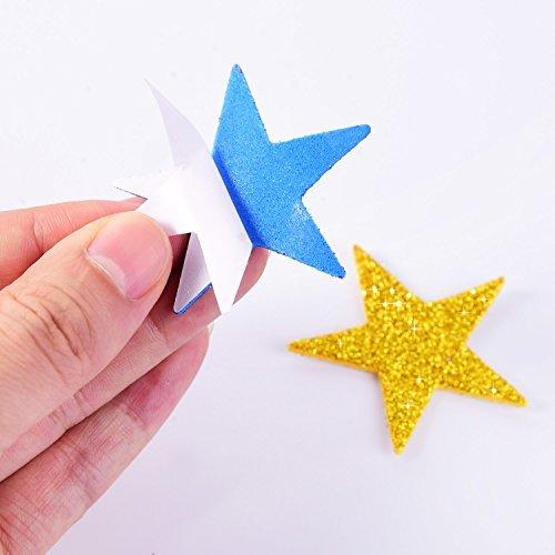 LuLyLu Pegatina Espuma Brillante Pegatina Estrella