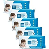 Mee Mee Caring Baby Wet Wipes with Lemon Fragrance (72 pcs/Pack) (Pack of 5)