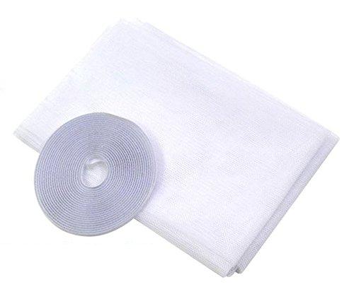 chicmall-mosquitera-contra-insectos-para-puerta-o-ventana-incluye-cinta-de-velcro-blanco