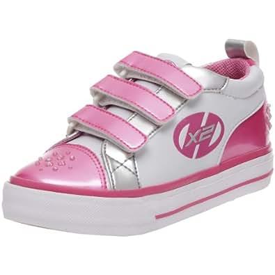 Heelys Junior Sparkler White/Pink/Silver Fashion Sports Wheeled Shoe Hly-G2W-0102 13 Child UK