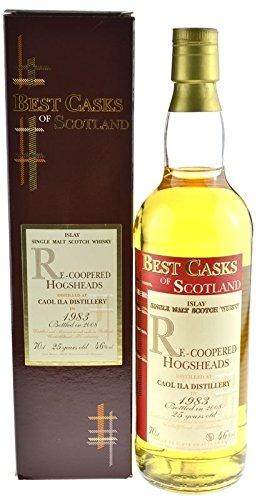 Preisvergleich Produktbild Rarität: Caol Ila Jahrgang 1983 - 25 Jahre 0,7l abgefüllt im Jahr 2008 inklusive Geschenkpackung - Islay Single Malt Scotch Whisky