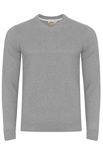 Mens Tokyo Laundry Havas V Neck Jumper Knitted Pullover Cotton Sweater