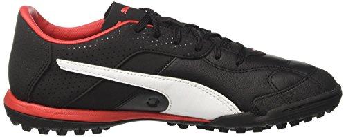 Puma Esito C TT, Chaussures de Football Américain Homme Noir (Puma Black-puma White-puma Red)