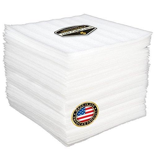 50Stück Mighty Gadget (R) Kissen Schaumstoff Blatt 30,5x 30,5cm Sicher Wrap Gerichte, China, und Möbel, Polsterung Supplies für (1/20,3cm Stärke)